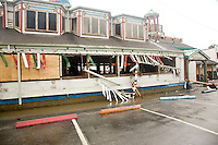 Hurricane Ike, Galveston, Texas damage.