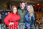 Ready to do The Chase fundraiser quiz for St Brendans NS in Blennerville in the Rose Hotel on Friday.<br /> L to r: Amy Roche, David Dillane and Lisa Curran.