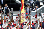 Flag of Spain during the National Day Military Parad.October 12,2012.(ALTERPHOTOS/Acero)