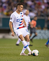 PHILADELPHIA, PA - JUNE 30: Aaron Long #23 during a game between Curaçao and USMNT at Lincoln Financial Field on June 30, 2019 in Philadelphia, Pennsylvania.