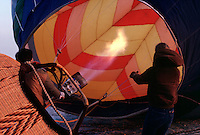 HOT AIR BALLOON<br /> Being Filled
