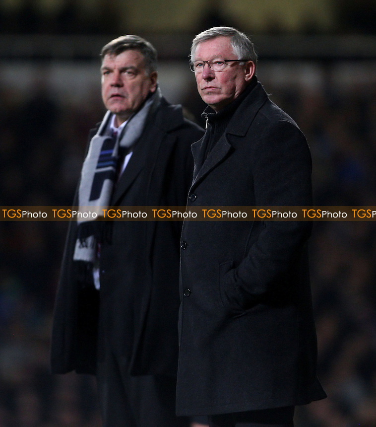 Manchester United manager Alex Ferguson - West Ham United vs Manchester United, FA Cup 3rd round at Upton Park, West Ham - 05/01/13 - MANDATORY CREDIT: Rob Newell/TGSPHOTO - Self billing applies where appropriate - 0845 094 6026 - contact@tgsphoto.co.uk - NO UNPAID USE.