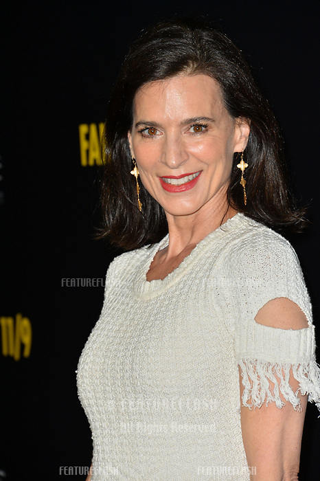 "LOS ANGELES, CA. September 19, 2018: Perrey Reeves at the Los Angeles premiere for Michael Moore's ""Fahrenheit 11/9"" at the Samuel Goldwyn Theatre.<br /> Picture: Paul Smith/Featureflash"