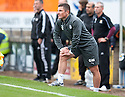 Raith Rovers' manager Grant Murray keeps his eye on the game.