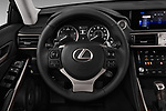 Car pictures of steering wheel view of a 2018 Lexus IS 300 4 Door Sedan