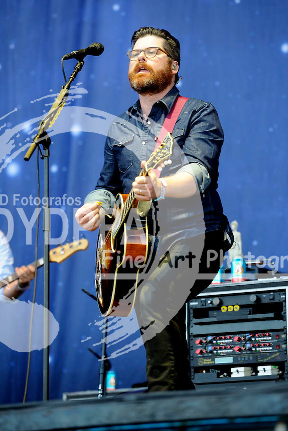 The Decemberists live auf dem Austin City Limits Music Festival 2015 im Zilker Park. Austin, 04.10.2015