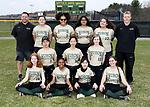 4-16-19, Huron High School junior varsity softball team