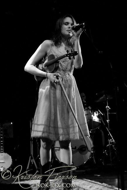 Honeyhoney perform at the Paradise in Boston on April 10, 2009.