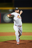 Glendale Desert Dogs pitcher Austin Gomber (29), of the St. Louis Cardinals organization, during a game against the Peoria Javelinas on October 18, 2016 at Peoria Stadium in Peoria, Arizona.  Peoria defeated Glendale 6-3.  (Mike Janes/Four Seam Images)