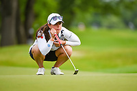 Nuria Iturrioz (ESP) looks over her putt on 11 during the round 1 of the KPMG Women's PGA Championship, Hazeltine National, Chaska, Minnesota, USA. 6/20/2019.<br /> Picture: Golffile | Ken Murray<br /> <br /> <br /> All photo usage must carry mandatory copyright credit (© Golffile | Ken Murray)