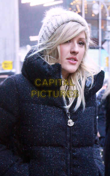 NEW YORK, NY - JANUARY 22: Ellie Goulding at ABC's Good Morning America in New York City on January 22, 2014<br /> CAP/MPI/RW<br /> &copy;RW/ MediaPunch/Capital Pictures