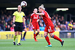 UEFA Women's Champions League 2018/2019.<br /> Semi Finals<br /> FC Barcelona vs FC Bayern Munchen: 1-0.<br /> Dominika Skorvankova.