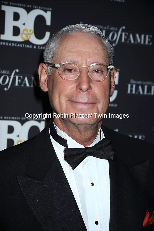 honoree Henry Schleiff attending the 20th Annual  Broadcasting & Cable Hall of Fame Awards on October 27, 2010 at The Waldorf Astoria Hotel in New York City.