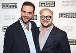 "Stephen Brown-Fried (GTG Associate Director), with husband Barrett Brown-Fried attends the Opening Night of The Gingold Theatrical Group production of Bernard Shaw's ""Caesar & Cleopatra"" at Theatre Row Theatre on September 24, 2019 in New York City."