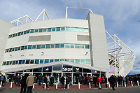 A general view of the liberty stadium prior to kick of for the Sky Bet Championship match between Swansea City and Reading at the Liberty Stadium in Swansea, Wales, UK. 27th October, 2018