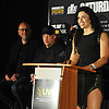 "Alicia ""The Empress"" Napolean, female boxer and Long Island native, speaks during a news conference at NYCB Live's Nassau Coliseum on Tuesday, June 6, 2017. She will fight on July 15 when professional boxing is scheduled to return to the coliseum for the first time in over 30 years."