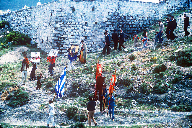 Easter Celebration, Olymbos, Karpathos, Greece