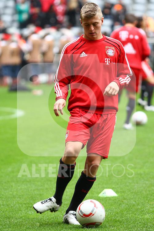 25.09.2010, Allianz Arena, Muenchen, GER, 1.FBL, FC Bayern Muenchen vs 1. FSV Mainz 05, im Bild Toni Kroos (Bayern #39)  , Foto © nph / Straubmeier