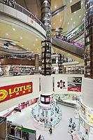 Modern mall interior, Shanghai, China