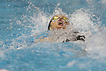 INDIANAPOLIS, IN - MARCH 18: Kathleen Baker swimming for California in the 200-meter backstroke during the Division I Women's Swimming & Diving Championships held at the Indiana University Natatorium on March 18, 2017 in Indianapolis, Indiana. (Photo by A.J. Mast/NCAA Photos via Getty Images)