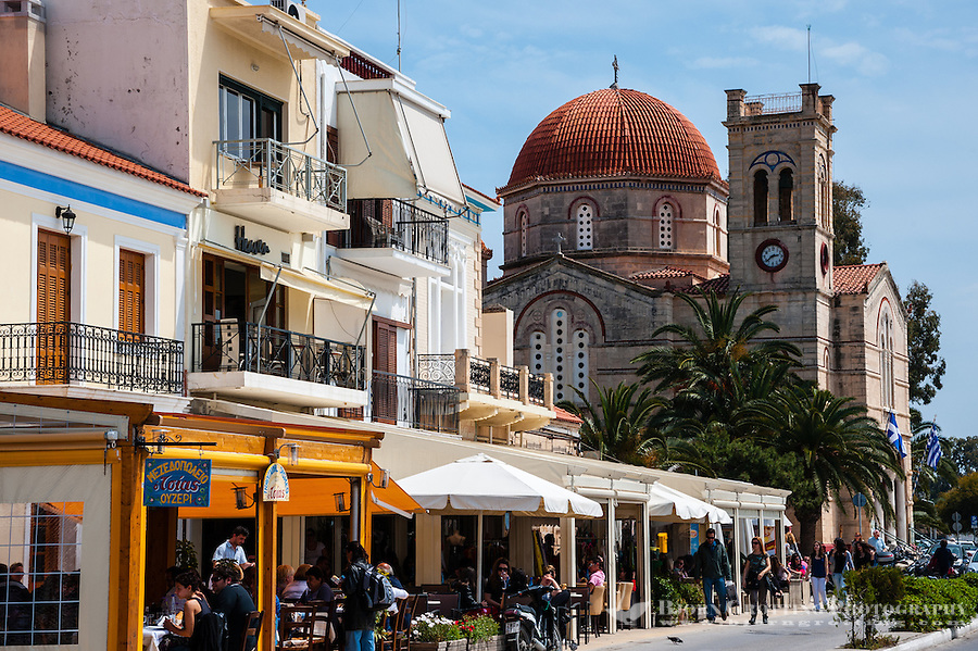 Aegina is one of the Saronic Islands of Greece in the Saronic Gulf.