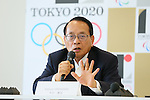 Katsuei Hirasawa, <br /> AUGUST 7, 2015 : <br /> International Roller Sports Federation (FIRS) <br /> holds a media conference following its interview <br /> with the Tokyo 2020 Organising Committee in Tokyo Japan. <br /> (Photo by YUTAKA/AFLO SPORT)