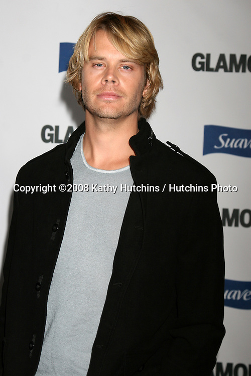 """Eric Christian Olsen arriving at the """"Glamour Reel Moments"""" Premieres of a Series of Short Films Written & Directed by Women in Hollywood at the Director's Guild Theater in Los Angeles, CA.October 14, 2008.©2008 Kathy Hutchins / Hutchins Photo...                ."""
