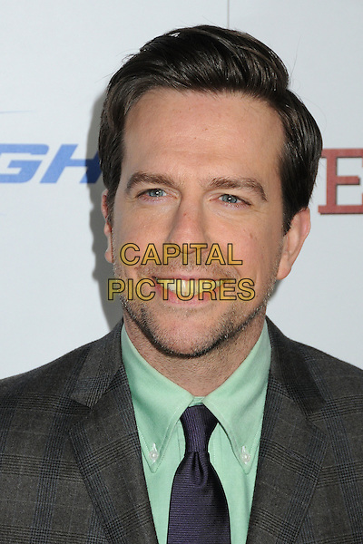 "Ed Helms.""Jeff, Who Lives At Home"" Los Angeles Premiere held at the Directors Guild of America, West Hollywood, California, USA..March 7th, 2012.headshot portrait black grey gray green stubble facial hair .CAP/ADM/BP.©Byron Purvis/AdMedia/Capital Pictures."