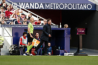 7th March 2020; Wanda Metropolitano Stadium, Madrid, Spain; La Liga Football, Atletico de Madrid versus Sevilla; Diego Pablo Simeone Coach of Atletico de Madrid