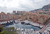 New residential development in Monaco looking from the area of the Prince's Palace on Monday, October 21, 2013.<br /> Credit: Ron Sachs / CNP