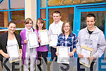 Happy Days Student of Colaiste na Sceilge received their Junior Cert Results yesterday and not a tear in sight, pictured here l-r; Amy Turner, Emma Carey, Nessa O'Sullivan, Odhran O'Mahony, Karla Boyle & Adam O'Sullivan.