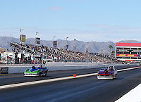 Feb 26, 2017; Chandler, AZ, USA; NHRA super gas driver XXXX during the Arizona Nationals at Wild Horse Pass Motorsports Park. Mandatory Credit: Mark J. Rebilas-USA TODAY Sports