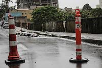 BELO HORIZONTE,MG, 20.11.2015 – CLIMA-MG – Chuva eleva o nível do Rio Arrudas na avenida dos Andradas cruzamento com avenida Silvianio Brandão, em Belo Horizonte, nesta sexta-feira, 18. (Foto: Doug Patricio/Brazil Photo Press)