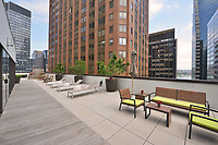 Roof Deck at 1 Wall Street Court