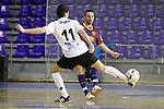 EL FC Barcelona Alusport es clasifica per la final de la Copa del Rei despres de guanyar el partit de tornada de la semifinal 6-1 contra el Azkar Lugo
