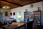 Lo studio di Giuseppe Giacosa, poeta, drammaturgo e librettista  risorgimentale
