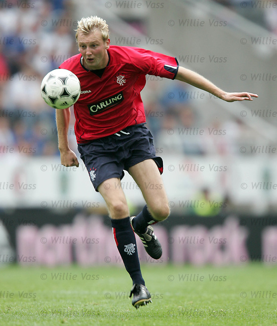 Stephen Hughes, Rangers.stock season 2004-2005.pic willie vass