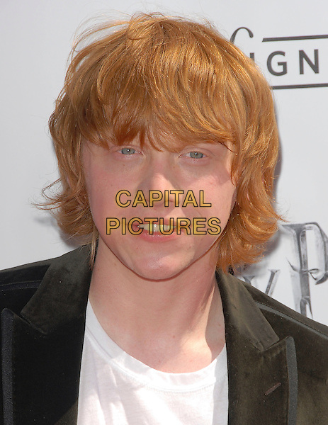 "RUPERT GRINT.attends The Warner Brothers' USA Premiere of ""Harry Potter and The Order of The Phoenix"" held at The Grauman's Chinese Theatre in Hollywood,  California, USA, July 08 2007.                                                                       portrait headshot.CAP/DVS.©Debbie VanStory/Capital Pictures"