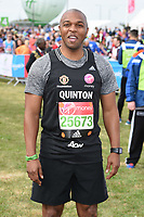 Quinton Fortune<br /> at the start of the 2017 London Marathon on Blackheath Common, London. <br /> <br /> <br /> ©Ash Knotek  D3253  23/04/2017