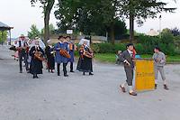 Lou Gerbassou, groupe folklorique d'Ambazac, au Jardins d'Orsay