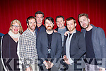 Aisling Clay, Mike O Nie, Gerard Mcnamee, Seanie Sugrue, John McGinty, Patrick Sheeran and Sean Kennedy at the premiere of Seannie Sugrue Tralee film Misty Button in Killarney Cinema on Sunday