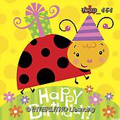 Sarah, CHILDREN BOOKS, BIRTHDAY, GEBURTSTAG, CUMPLEAÑOS, paintings+++++ladybug-09-B,USSB464,#BI#, EVERYDAY