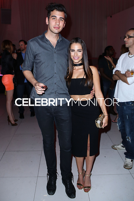 HOLLYWOOD, LOS ANGELES, CA, USA - AUGUST 18: Nick Simmons, Jessica Lowndes at the Los Angeles Premiere Of Lionsgate Films' 'The Prince' After Party held at Supperclub on August 18, 2014 in Hollywood, Los Angeles, California, United States. (Photo by Xavier Collin/Celebrity Monitor)