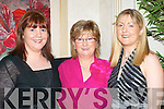FASHION SHOW: Teresa Hegarty, Tess O'Brien and Breda Geoghegan, Killarney enjoying the Diamonds and Divas Fashion Show in the Muckross Park Hotel, Killarney on Saturday.   Copyright Kerry's Eye 2008