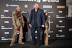 Actor Michael Cudlitz attends The Walking Dead: 6th Season presentation in Madrid, Spain. February 23, 2016. (ALTERPHOTOS/Victor Blanco)