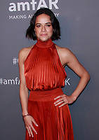 NEW YORK, NY - FEBRUARY 6: Michelle Rodriguez arriving at the 21st annual amfAR Gala New York benefit for AIDS research during New York Fashion Week at Cipriani Wall Street in New York City on February 6, 2019. <br /> CAP/MPI99<br /> ©MPI99/Capital Pictures