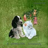 GIORDANO, CHRISTMAS ANIMALS, WEIHNACHTEN TIERE, NAVIDAD ANIMALES, paintings+++++,USGI1399-1408,#XA#
