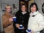 Jackie Ryan, Edel Matthews and Julie Clarke pictured at Mary Brennan's Silversmith workshop and gallery at Old Coach road Dunleer. Photo: Colin Bell/pressphotos.ie