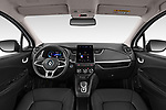 Stock photo of straight dashboard view of 2020 Renault ZOE Edition-One 5 Door Hatchback Dashboard