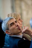 Roma, 27 Febbraio, 2010. Pierfedinando Casini